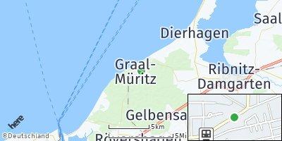 Google Map of Seeheilbad Graal-Müritz