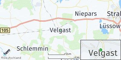 Google Map of Velgast