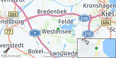 Google Map of Westensee