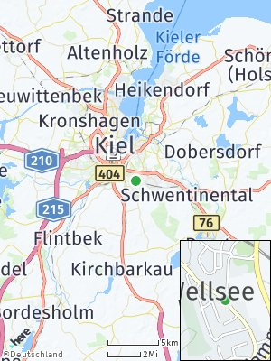 Here Map of Wellsee