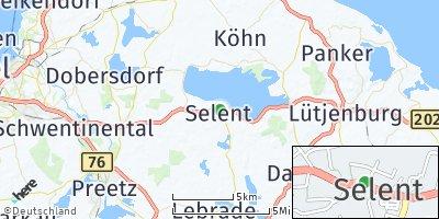 Google Map of Selent