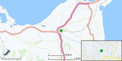 Google Map of Oldenburg in Holstein