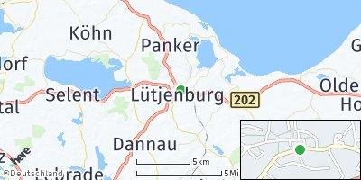 Google Map of Lütjenburg
