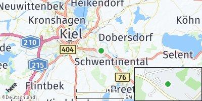 Google Map of Schwentinental