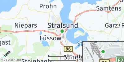 Google Map of Stralsund