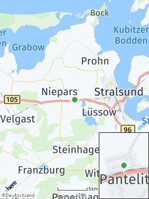 Here Map of Pantelitz