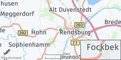 Google Map of Fockbek