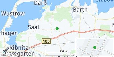 Google Map of Lüdershagen