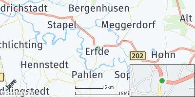 Google Map of Erfde