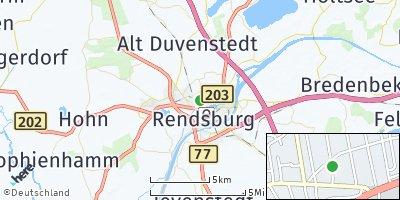 Google Map of Büdelsdorf