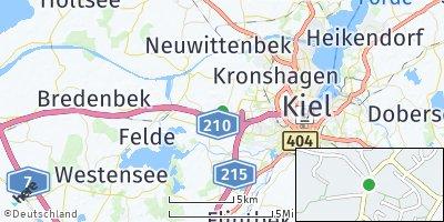 Google Map of Melsdorf