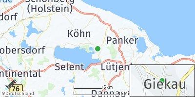 Google Map of Giekau