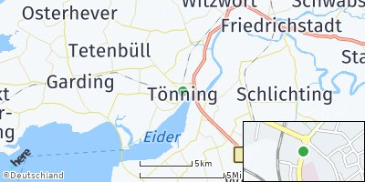 Google Map of Tönning