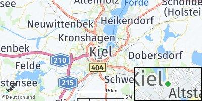 Google Map of Kiel