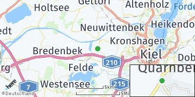 Google Map of Quarnbek