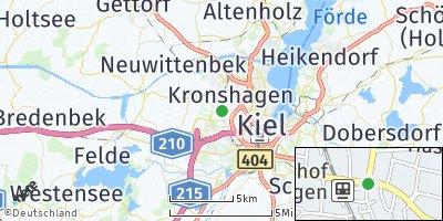 Google Map of Kronshagen