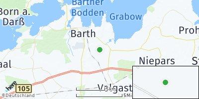 Google Map of Kenz-Küstrow