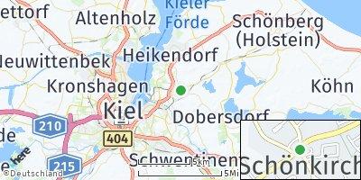 Google Map of Schönkirchen