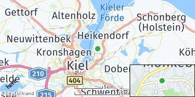Google Map of Mönkeberg