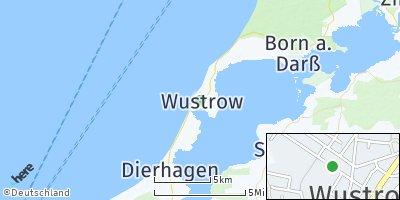Google Map of Ostseebad Wustrow