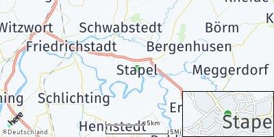 Google Map of Süderstapel
