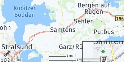Google Map of Samtens
