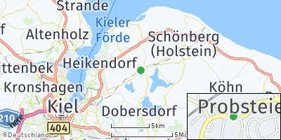Google Map of Probsteierhagen