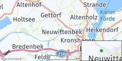 Google Map of Neuwittenbek