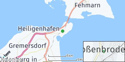 Google Map of Großenbrode