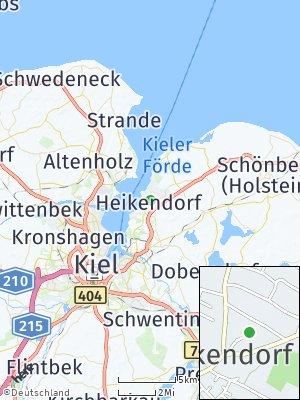 Here Map of Heikendorf