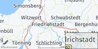 Google Map of Friedrichstadt