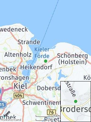 Here Map of Brodersdorf