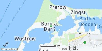 Google Map of Born auf dem Darß
