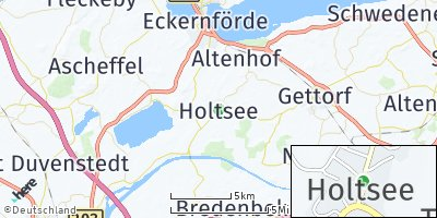 Google Map of Holtsee