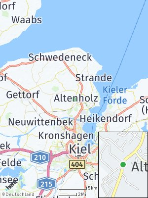Here Map of Altenholz