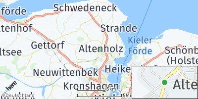 Google Map of Altenholz
