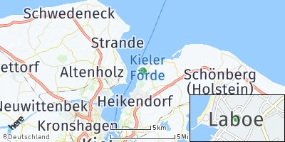 Google Map of Laboe