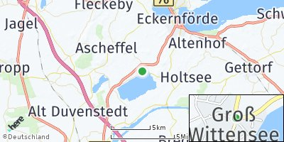 Google Map of Groß Wittensee
