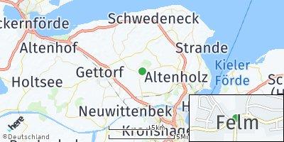 Google Map of Felm