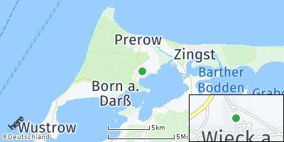 Google Map of Wieck auf dem Darß