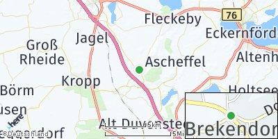 Google Map of Brekendorf