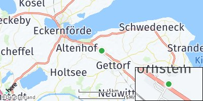 Google Map of Neudorf-Bornstein