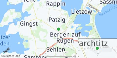 Google Map of Parchtitz