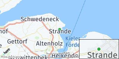 Google Map of Strande