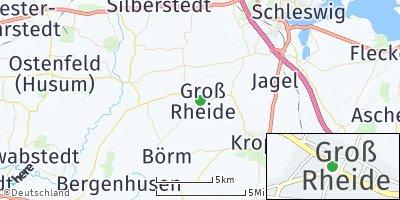 Google Map of Groß Rheide