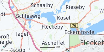 Google Map of Fleckeby