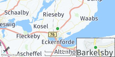 Google Map of Barkelsby