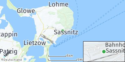 Google Map of Sassnitz