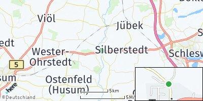 Google Map of Treia bei Schleswig