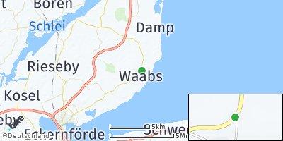 Google Map of Waabs